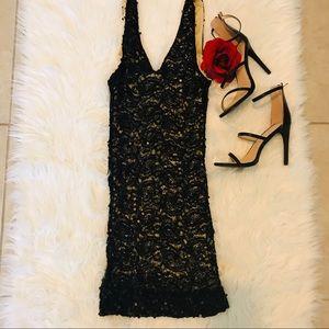 🖤NWOT SPARKLING SEXY LITTLE BLACK DRESS